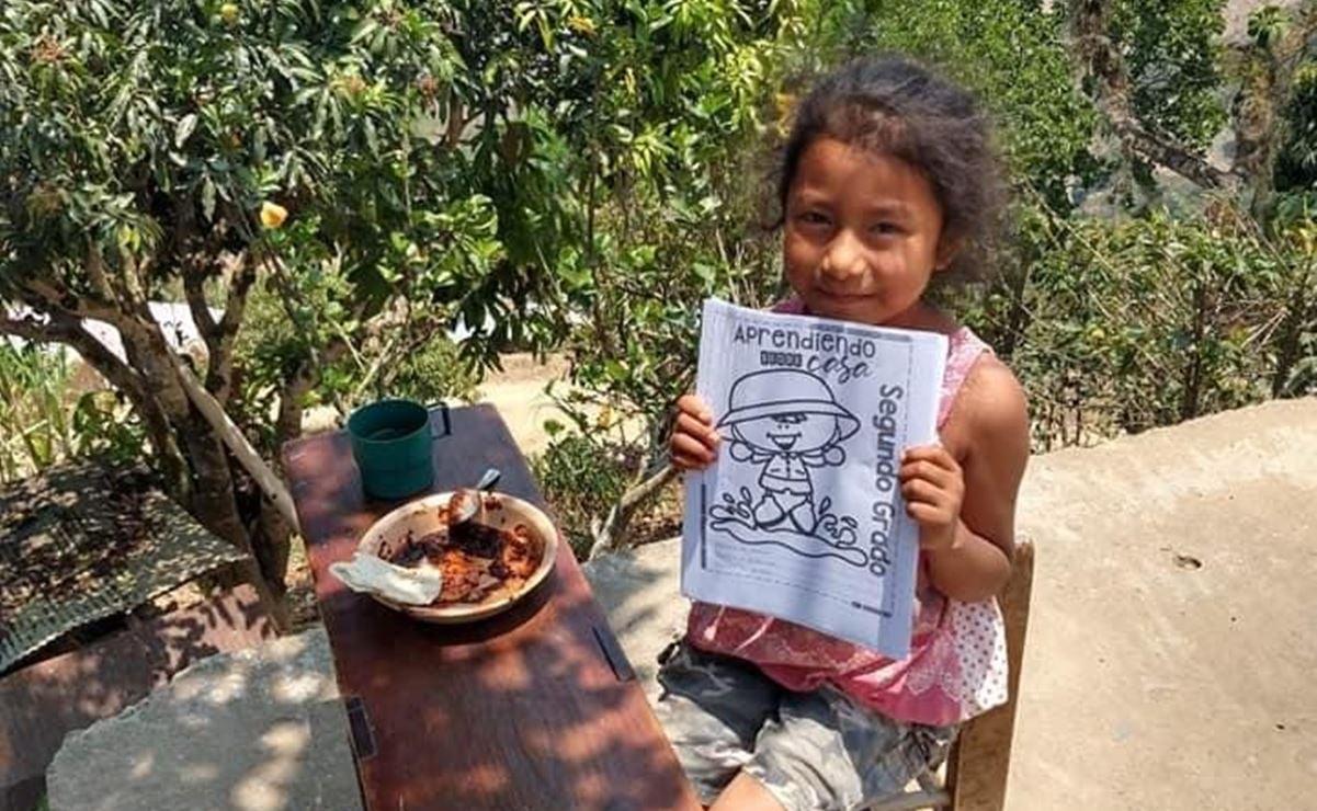 Colectan útiles escolares para comunidades vulnerables en la Cañada