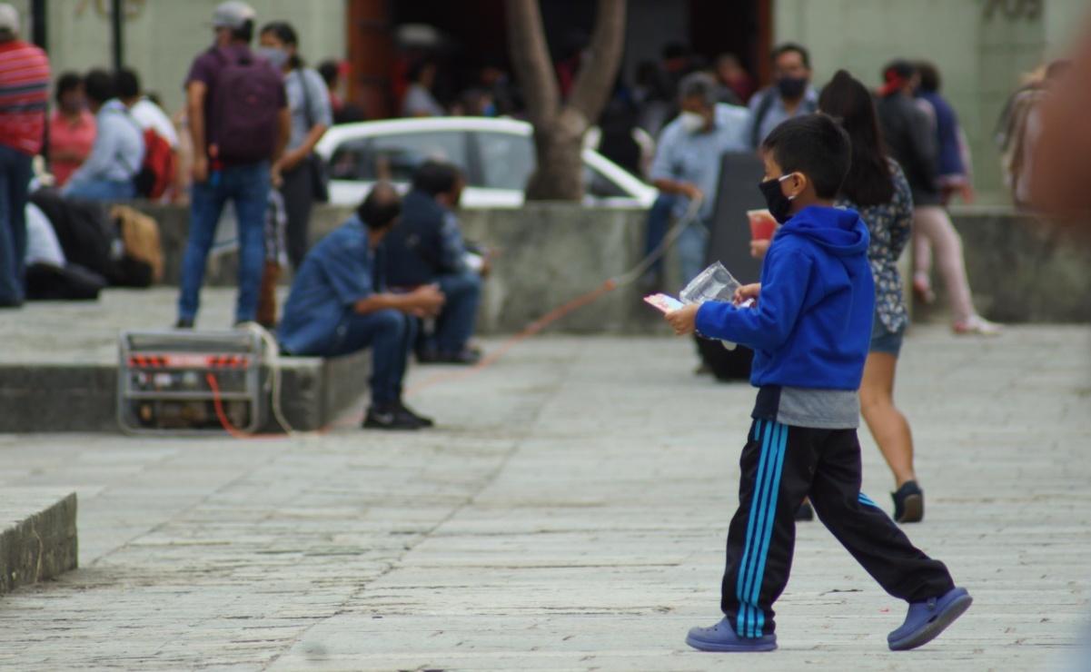 Tras 2 semanas en amarillo, regresa Oaxaca a naranja; suman 14 mil 676 casos de Covid-19
