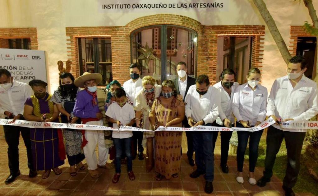 Remodelan el Instituto Oaxaqueño de las Artesanías con inversión de 36.2 mdp