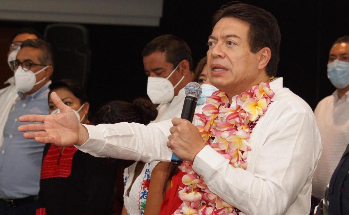 Si Muñoz Ledo tiene pruebas de corrupción en elección de Morena, tiene la obligación de denunciar: Mario Delgado