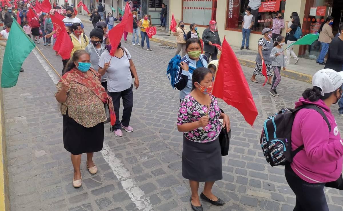 Se deslinda Antorcha Campesina de conflicto por recursos entre Tezoatlán y sus agencias