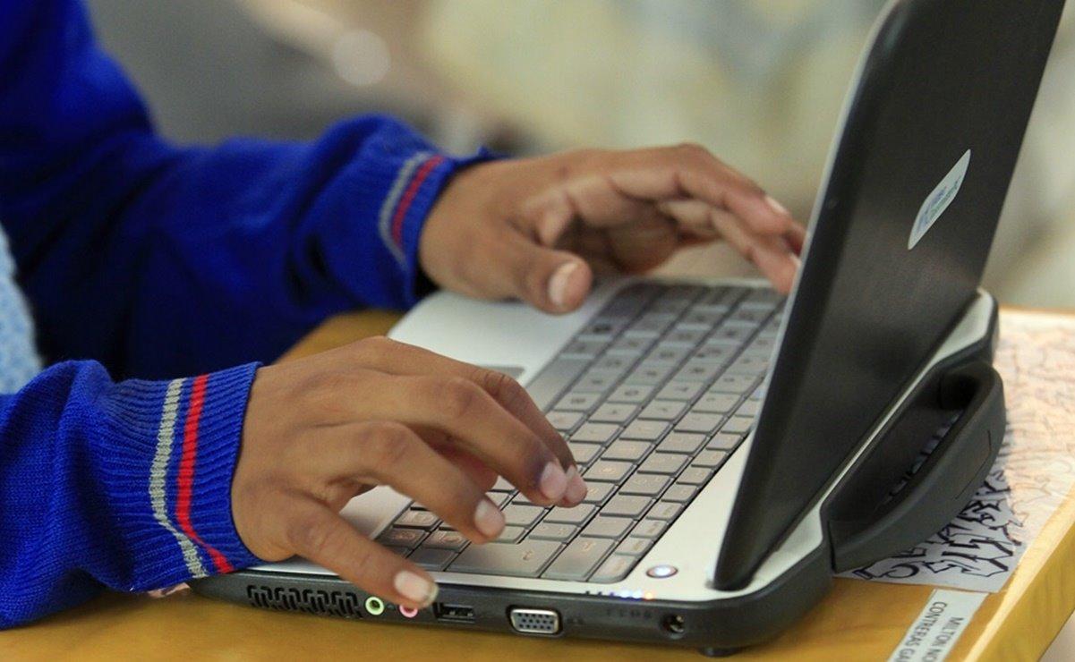 Realiza Sección 59 del SNTE colecta de aparatos electrónicos para que niños no dejen las clases