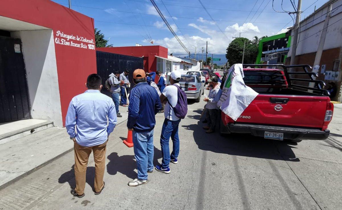 Pobladores de Santiago Jocotepec piden ayuda por lluvias; CEPCO promete atención
