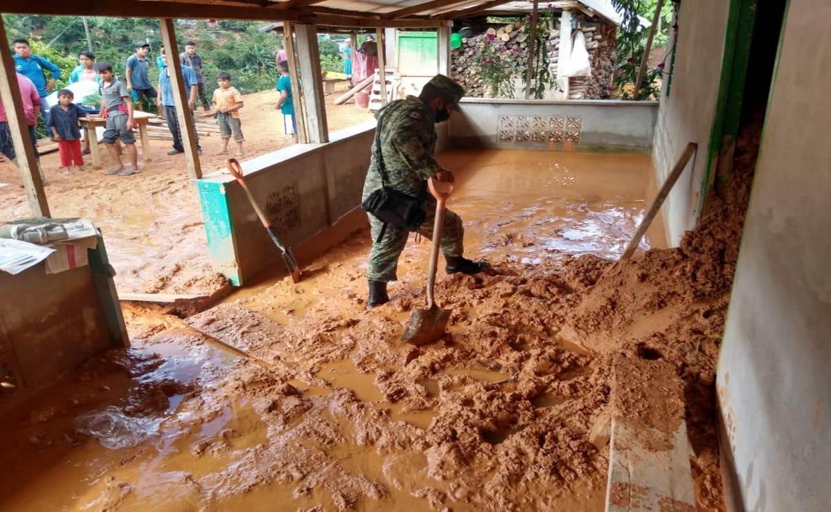 Activan Sedena Plan DN-III ante afectaciones por lluvias en la Cuenca
