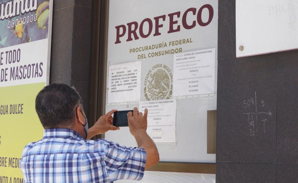 Extiende Profeco Oaxaca cierre de sus oficinas tras brote de Covid en 11 de sus trabajadores