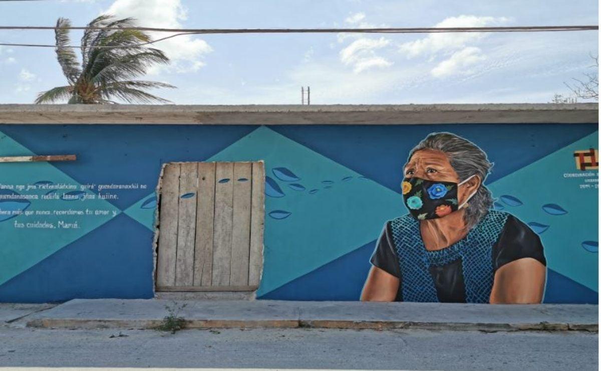 En Juchitán, arte y letras se suman a la prevención contra la pandemia