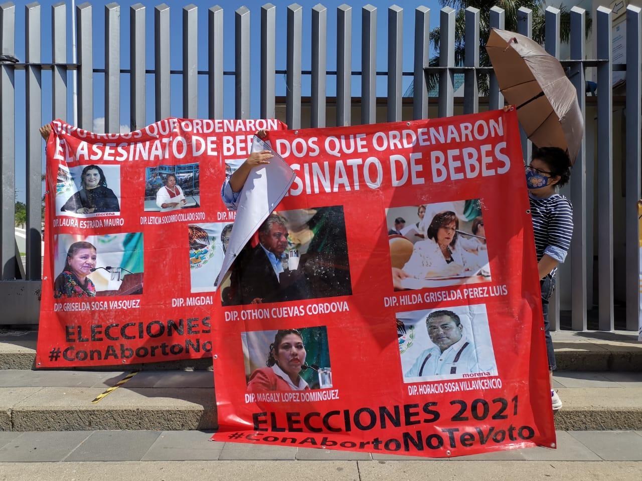 Organizaciones rechazan en redes aborto legal seguro y gratuito, a un año de su despenalización