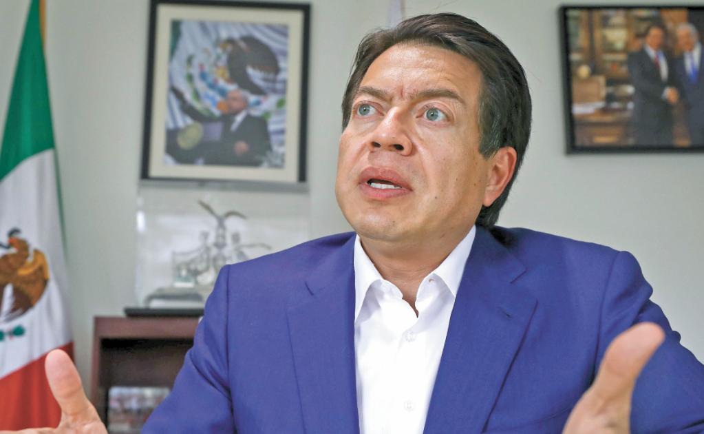 Delgado pide auditoría por los 444 mdp de bancada