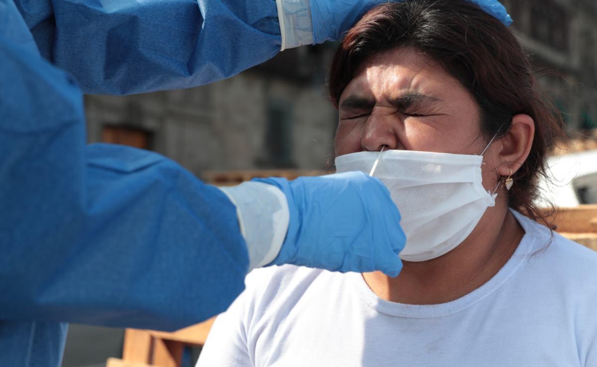 Acusa sindicato de Salud reducción de hasta 70% en aplicación de pruebas de Covid-19