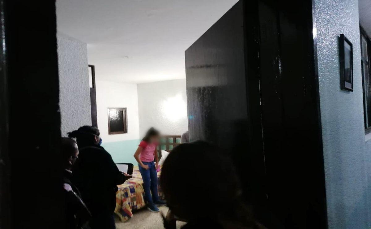 Por una llamada, policía de Oaxaca rescata a niña salvadoreña que pretendían llevar a EU