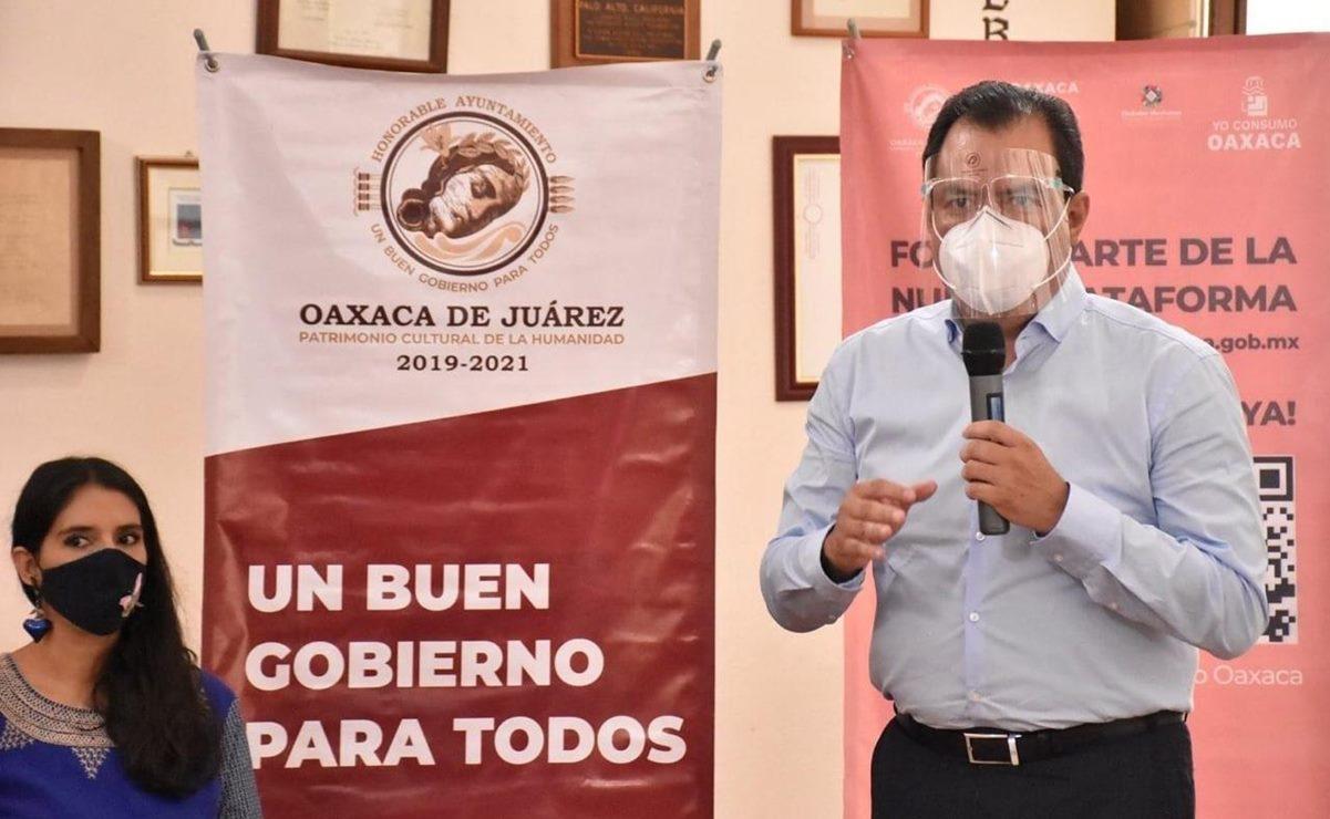 Oswaldo García Jarquín, edil de Oaxaca de Juárez, da positivo a Covid-19