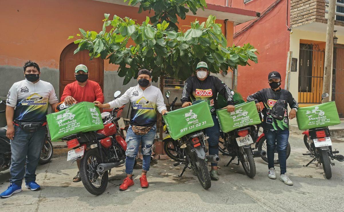 Pandemia revive la tradición zapoteca de los mensajeros, una opción de empleo para jóvenes