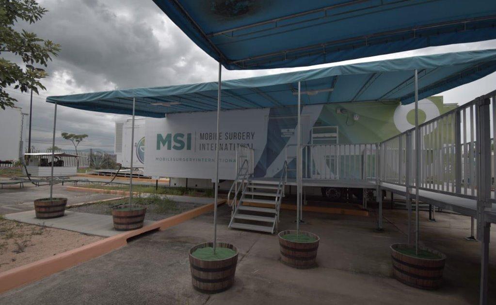 Reactivan hospital móvil que busca beneficiar a 3 mil oaxaqueños con cirugías gratuitas