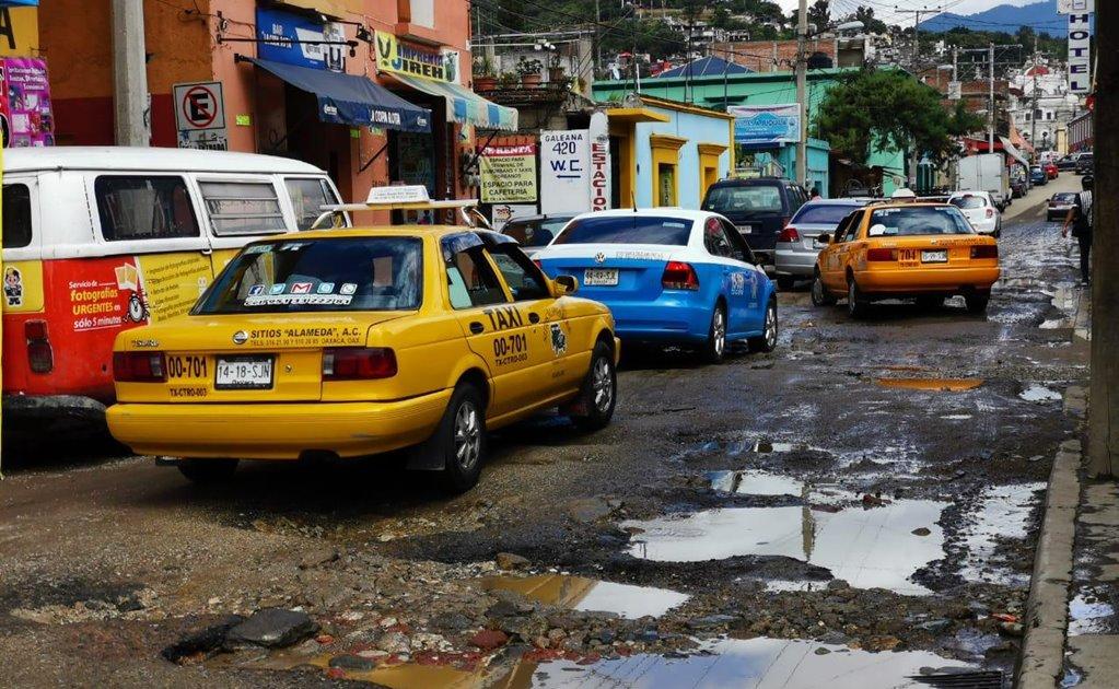 Anuncian constructores mapeo de calles de la capital dañadas por baches y que urge reparar