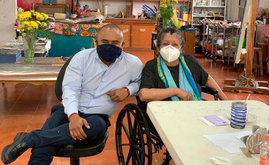 Subastarán obras de Justina Fuentes a favor de la Casa de la Cultura de Santa Lucía del Camino