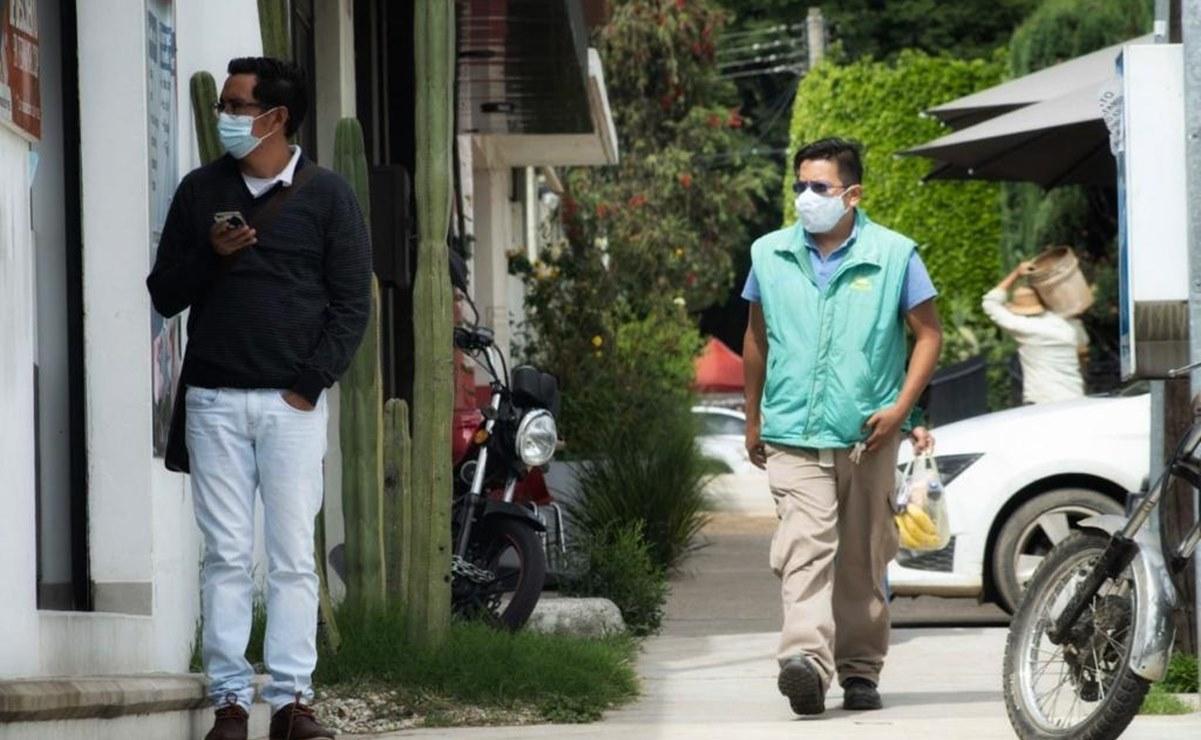 Registra Oaxaca sólo 13 nuevos casos de Covid-19; hay 579 activos