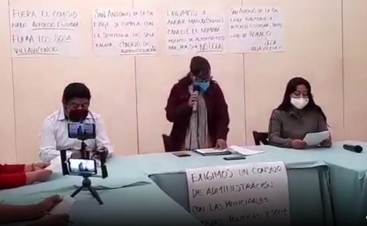 A más de dos meses sin servicios, piden pobladores de San Antonio de la Cal audiencia con Murat