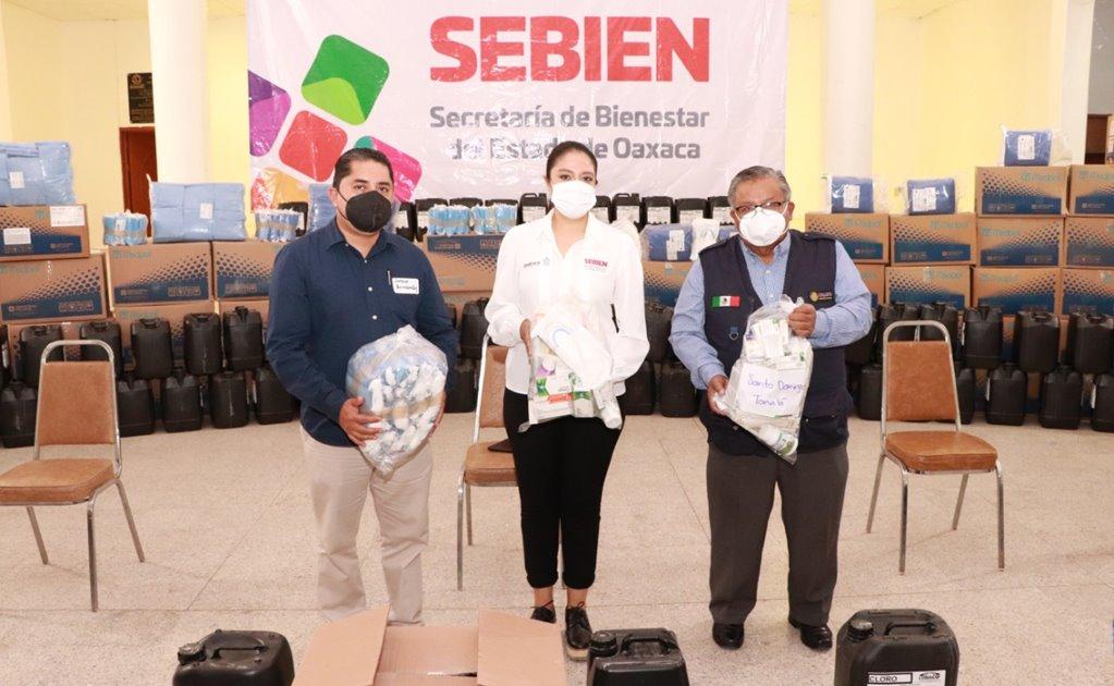 Entregan medicamentos e insumos hospitalarios para 166 municipios de la Mixteca