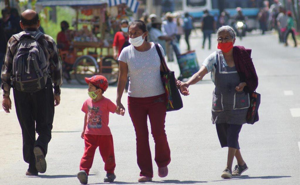 Tras anuncio de regreso a semáforo naranja, Oaxaca suma 705 casos de Covid-19 en el día