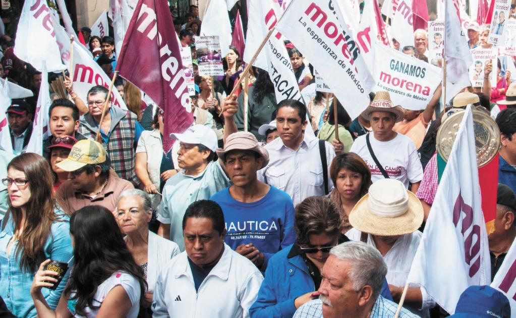 Encuesta de INE ahonda conflicto en Morena
