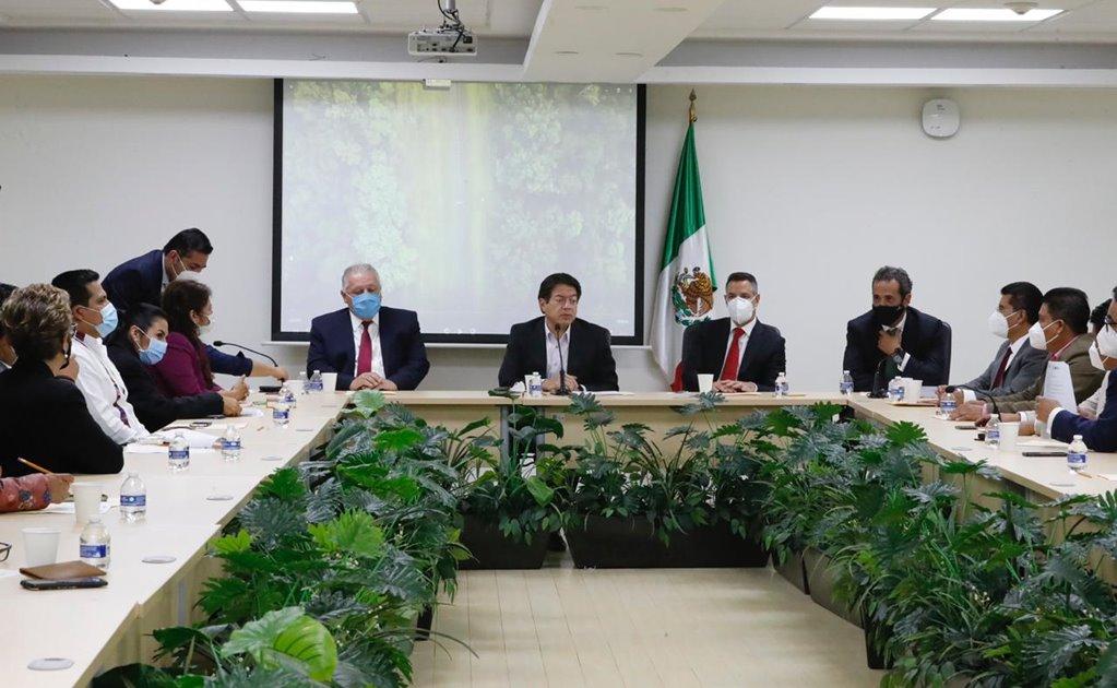 Desde Congreso de la Unión, pacta Murat Alianza por el Progreso del Sur Sureste del país