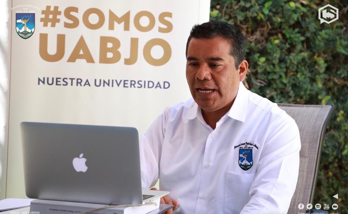 Hasta reformar Ley Orgánica de UABJO debe considerarse elegir rector en pandemia: Eduardo Bautista
