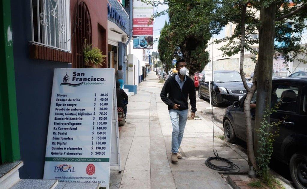 Oaxaca acumula 19 mil 238 contagios y mil 546 muertes por Covid-19