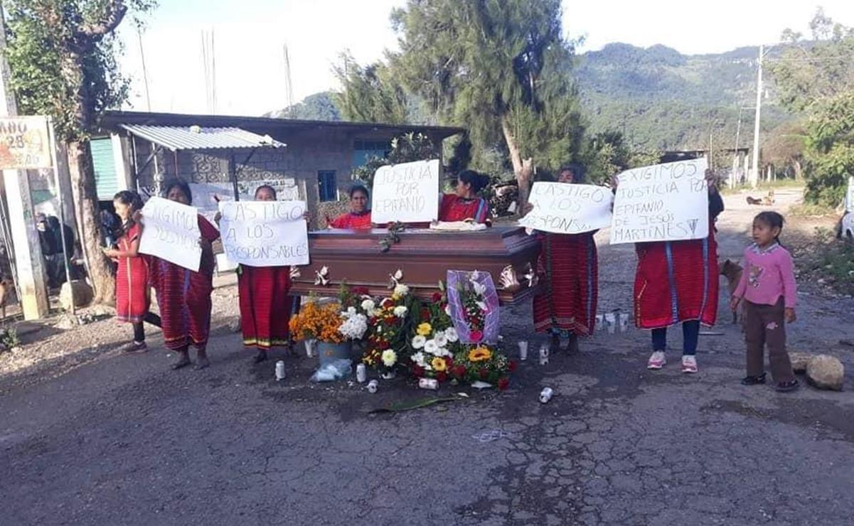 Triquis exigen castigo por asesinato de compañero en Juxtlahuaca; autor está identificado
