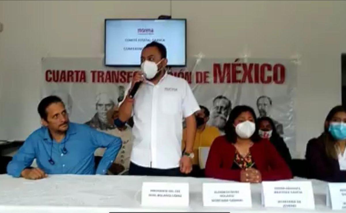 """Morena Oaxaca denunciará al IEEPCO por poner por """"error"""" a Gómez Nucamendi como presidente del partido"""