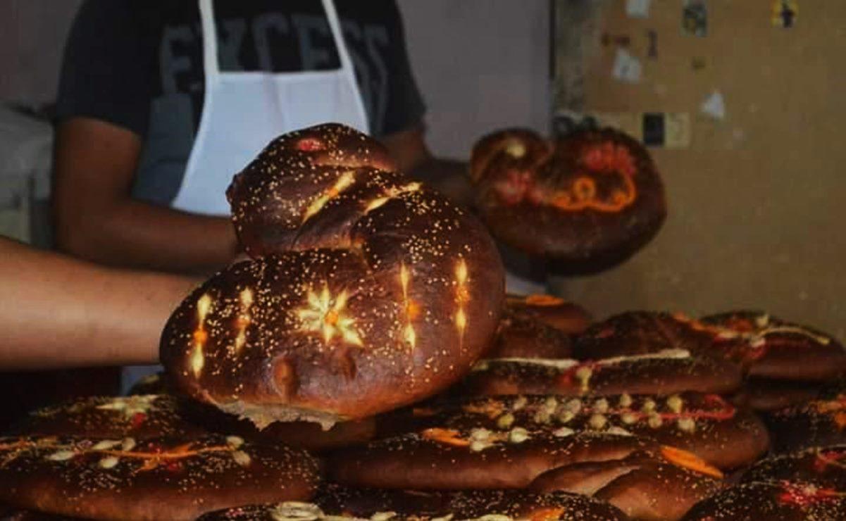 Con forma de sirena y de levadura fresca, así son los panes de muerto de la Cuenca y la Sierra Sur de Oaxaca