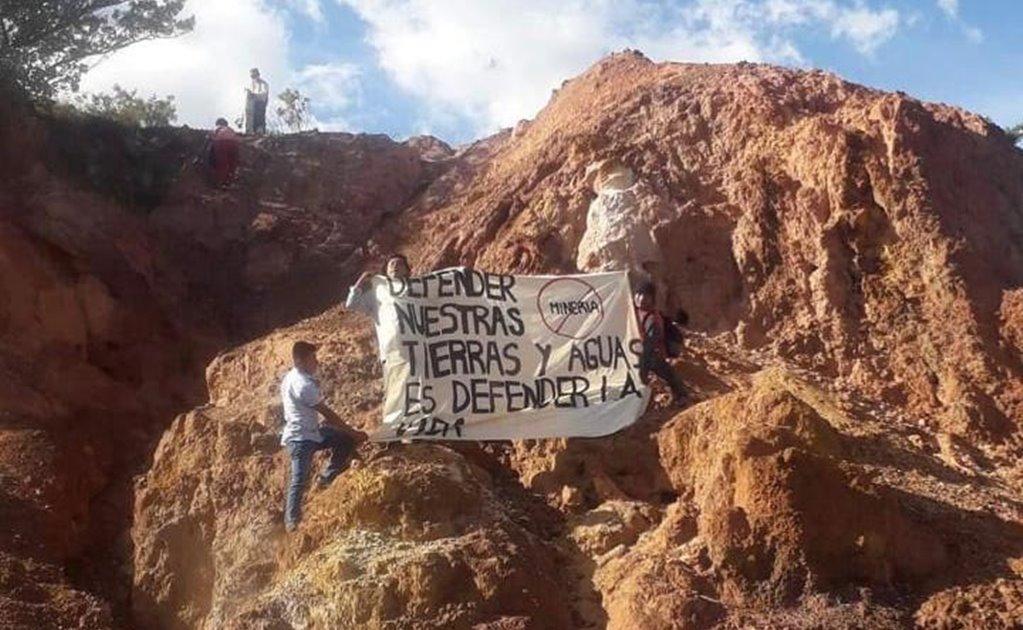 Zoques reiteran rechazo a minera canadiense en Los Chimalpas; cancelan trabajos de exploración