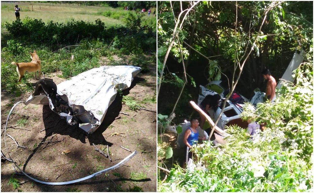 Cae avioneta en Puerto Escondido; reportan 6 heridos