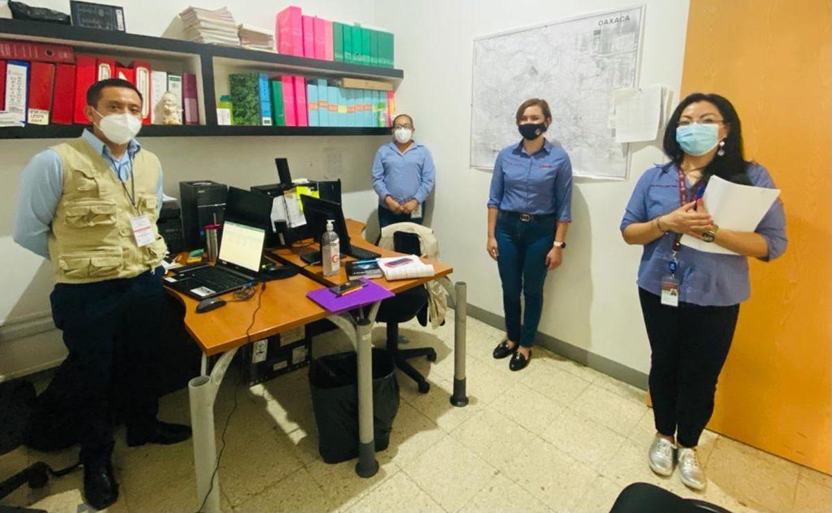 Supervisa federación trabajo de Unidad de Inteligencia en Emergencias en Salud de Oaxaca