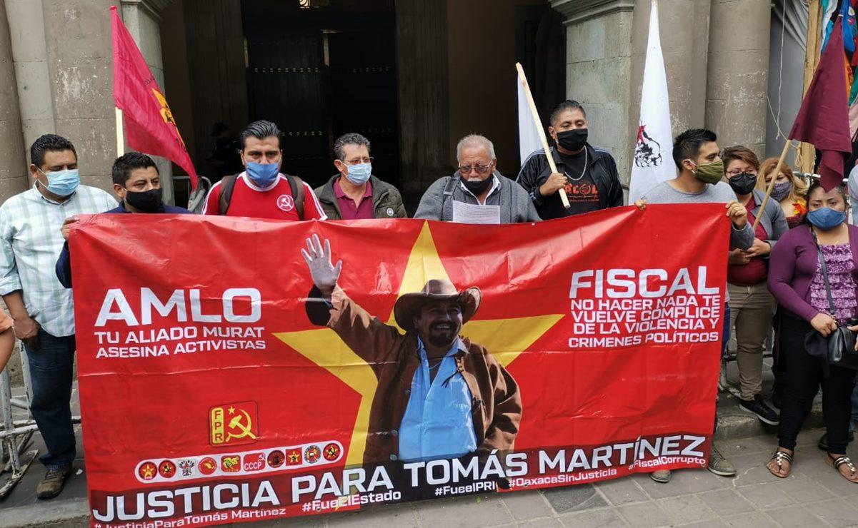 FPR exige que también se capture a autores intelectuales del homicidio de Tomás Martínez
