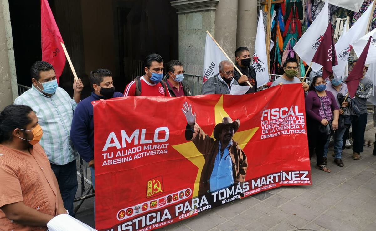 Vinculan a proceso a presunto autor material del asesinato de Tomás Martínez, líder del FPR