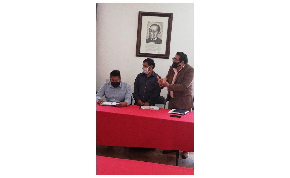Con amenazas y agresiones, comunidades de San Andrés Dinicuiti rompen mesa de negociación