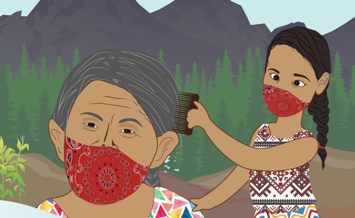 Jóvenes crean material en 30 lenguas indígenas contra Covid-19 y noticias falsas en pueblos de Oaxaca