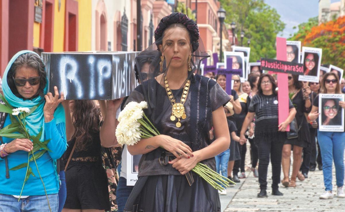 """""""El objetivo es que haya justicia"""", responde Murat ante denuncia de Soledad Jarquín por impunidad en el feminicidio de Sol"""