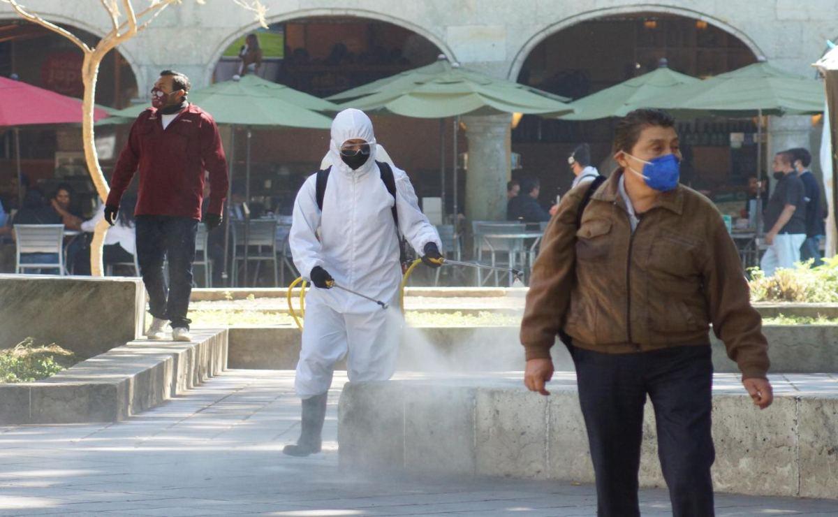 Incrementa Oaxaca 205 casos activos en una semana