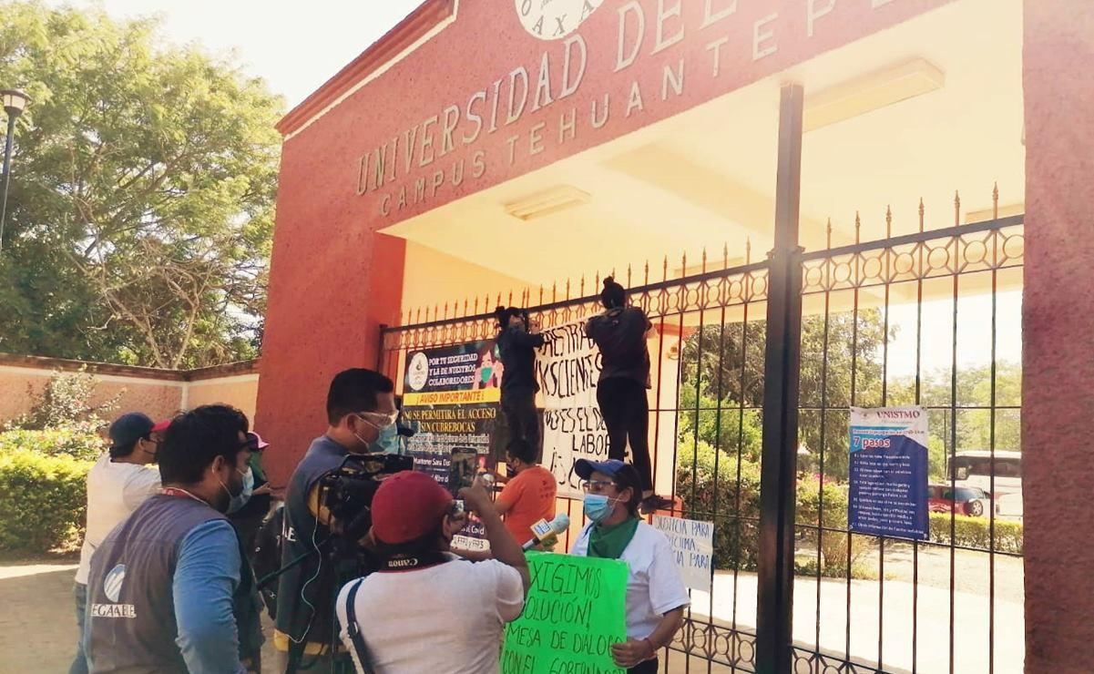 Señalamientos de acoso dañan nuestra imagen, también hay quejas contra docente despedida: Unistmo