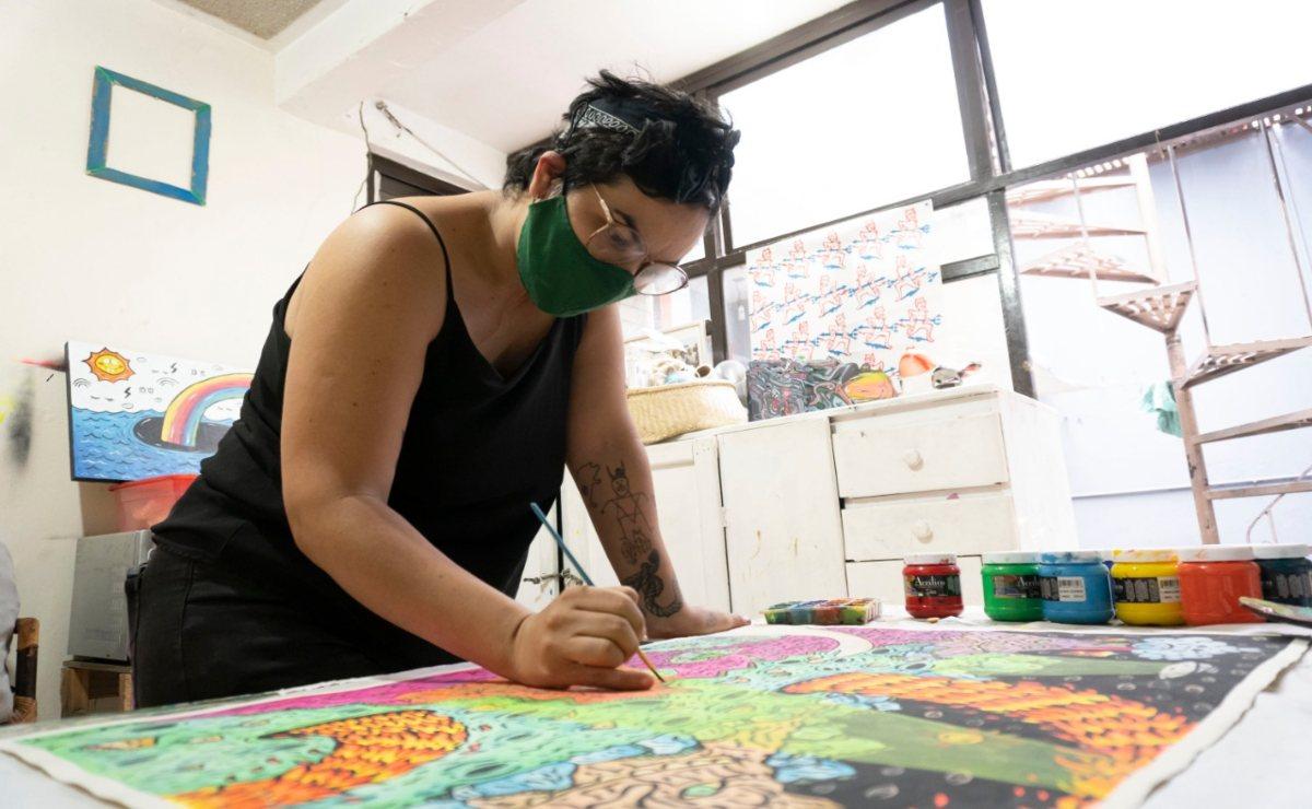 Conoce La Casa Rosa, un espacio para el arte disidente y feminista en Oaxaca