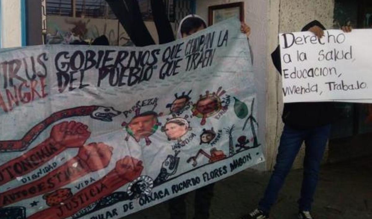 Con protesta en DDHPO, denuncian amenazas de muerte contra dos mujeres activistas en Oaxaca