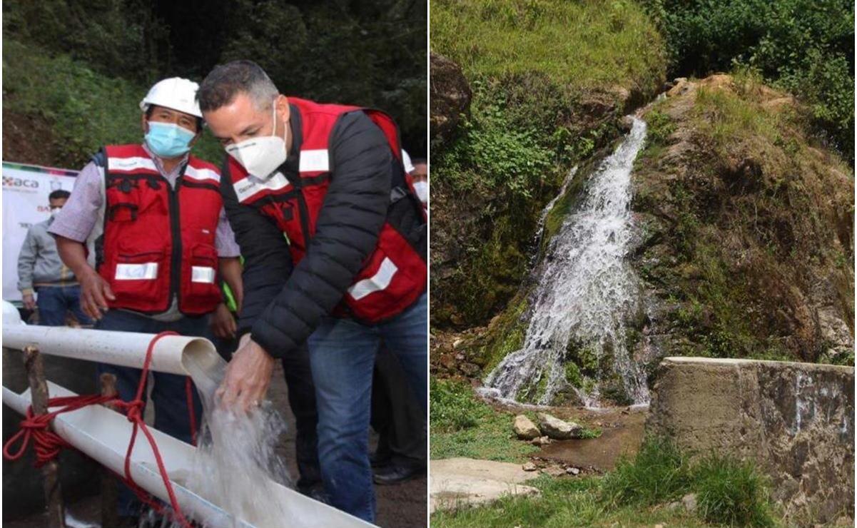 Buscamos fuentes de agua para Ayutla, cuando haya fallo final sobre manantial, se aplicará: Murat