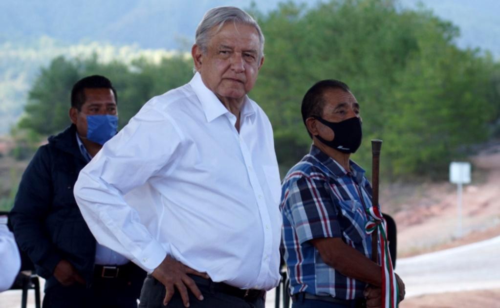 A pesar del veto del INE, AMLO volvió a hablar sobre el proceso electoral