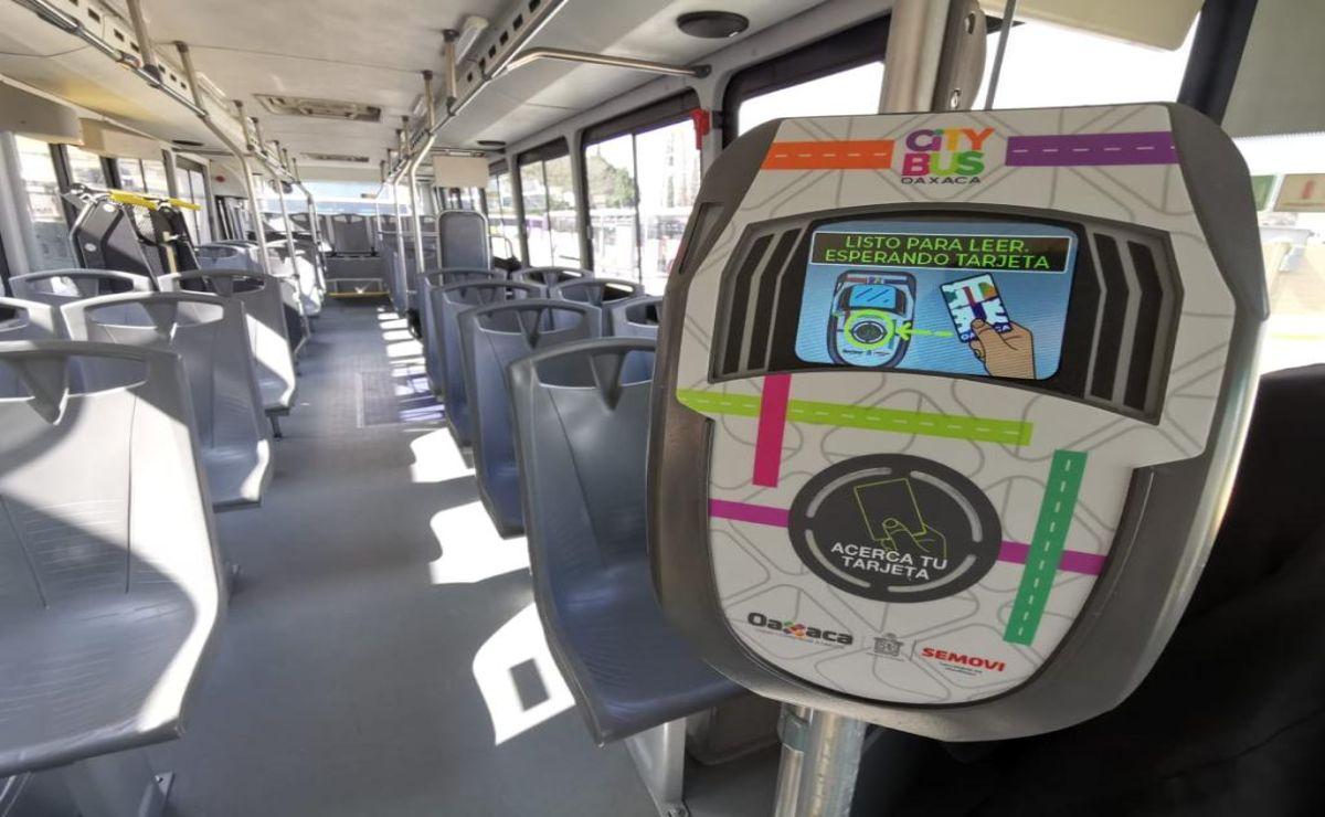 Arrancan semaforización y recorridos de prueba del CityBus Oaxaca; proyectan opere para marzo
