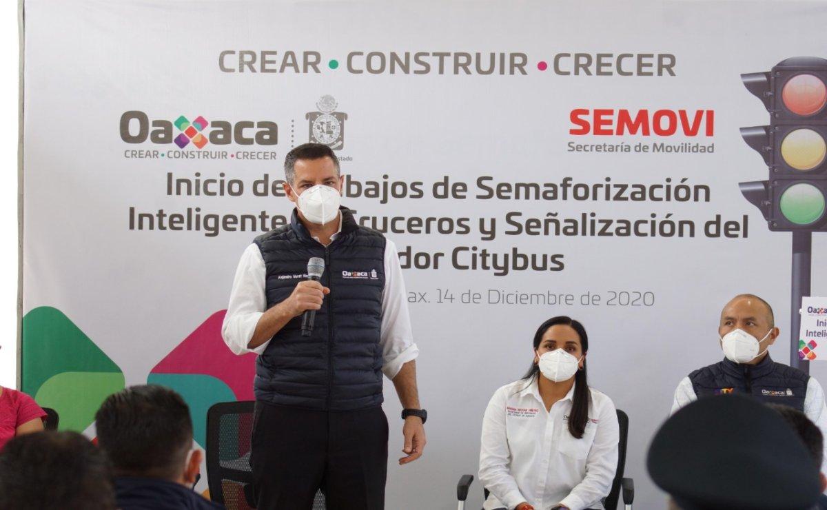 Oaxaca está previsto como uno de los primeros estados para aplicar la vacuna contra Covid-19: Murat