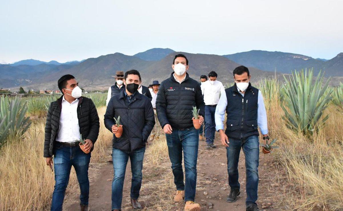 Asegura Oaxaca alianzas para fortalecer cadena productiva del mezcal