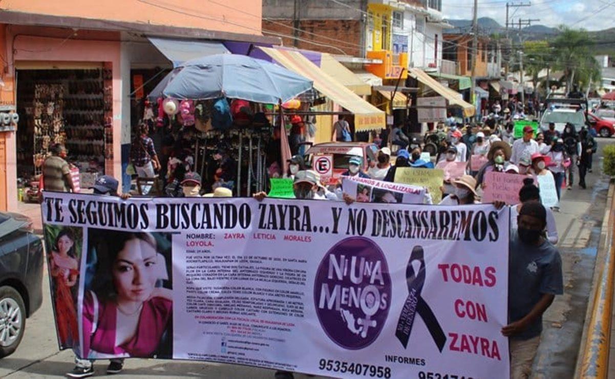 Detienen en la Mixteca a dos presuntos responsables de la desaparición de Zayra