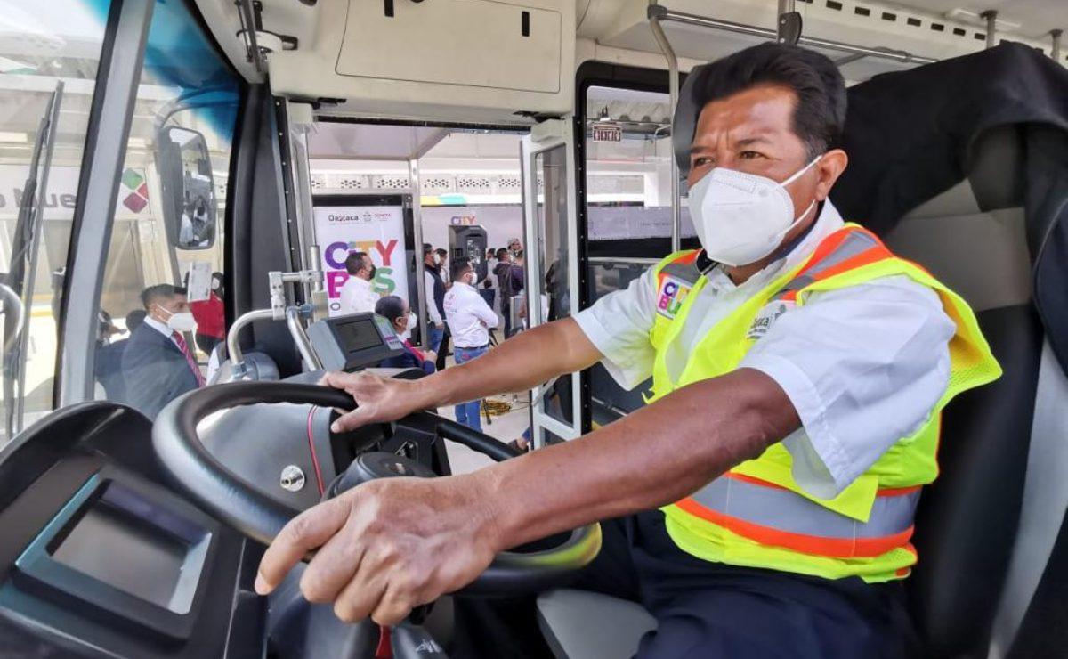 CityBus Oaxaca: 6 años de espera por transporte digno; José es de los primeros conductores