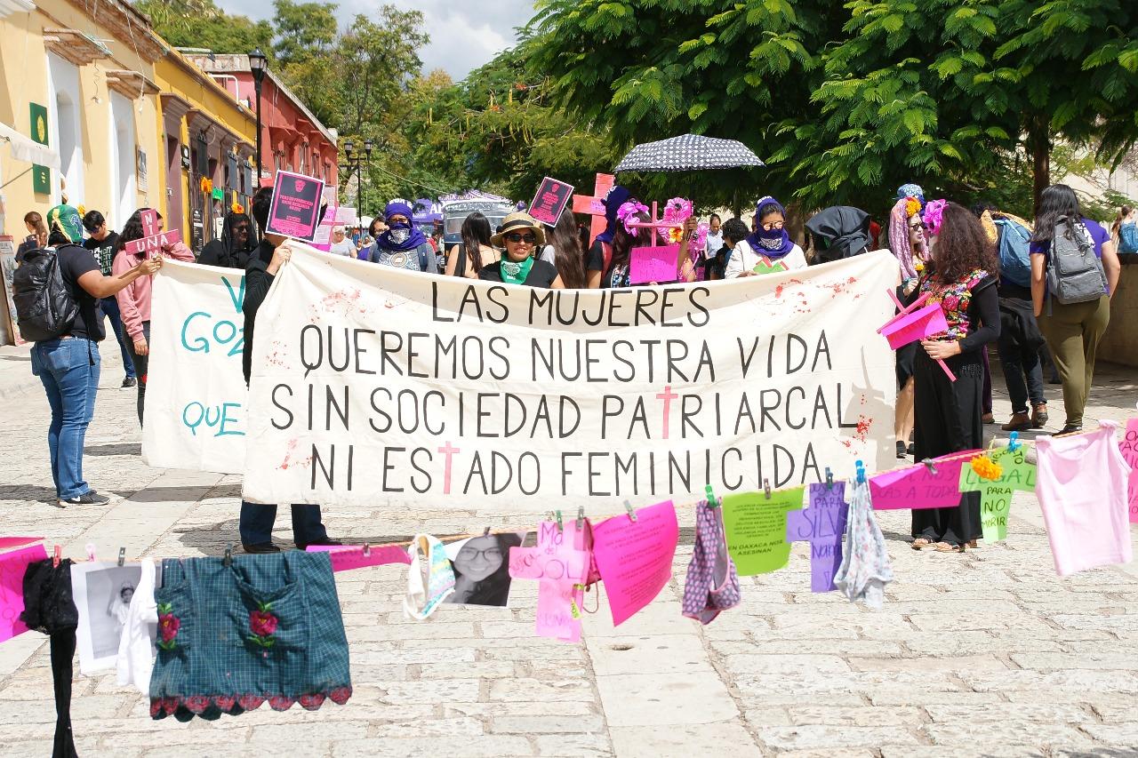 Han sido asesinadas 109 mujeres en Oaxaca en lo que va del año: GES Mujer